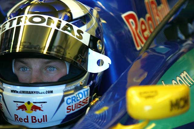 Kimi Raikkonen na Sauber