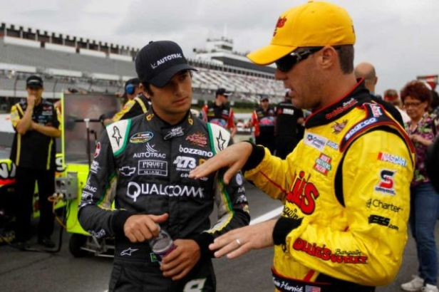 Nelsinho Piquet e Kevin Harvick