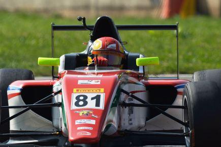 Brandon Maisano desceu até a F4 para retomar a carreira