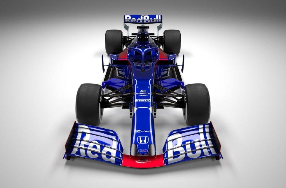 Toro Rosso STR14 F1 2019 Formula 1 novos carros da F1 2019