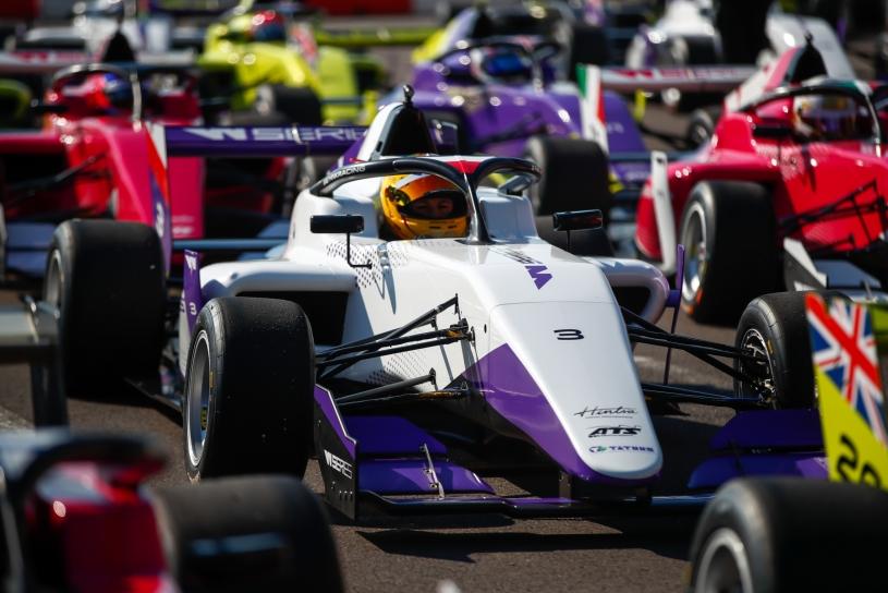 foto dos carros da W Series