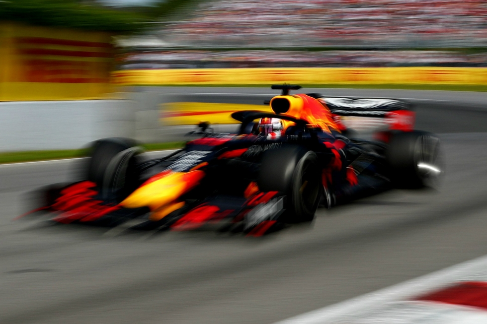 foto do carro da Red Bull na F1