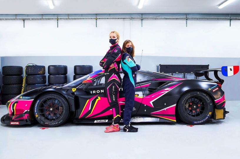Doriane Pin, Iron Dames, Iron Lynx, 2021, Ferrari, GT3, Le Mans Cup